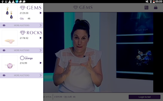 Screenshot of Gemporia Jewelry Auctions