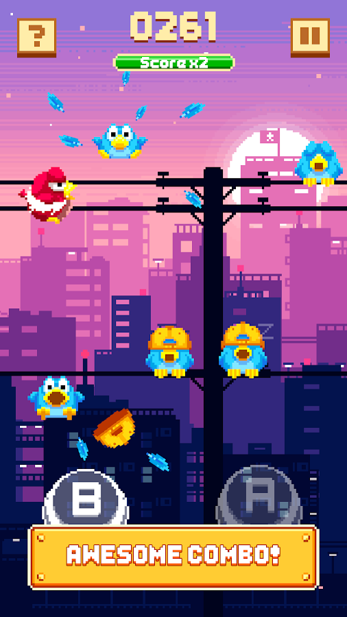 Kooky Bird - Wake Them Up! Screenshot 2