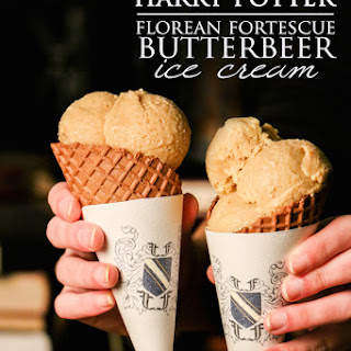Harry Potter Florean Fortescue Butterbeer Ice Cream Recipe | Food i Literature