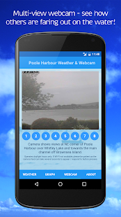 Poole Harbour Weather & Webcam- screenshot thumbnail