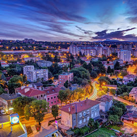 by Siniša Biljan - City,  Street & Park  Vistas