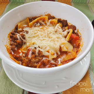 Quick Weeknight Lasagna Soup
