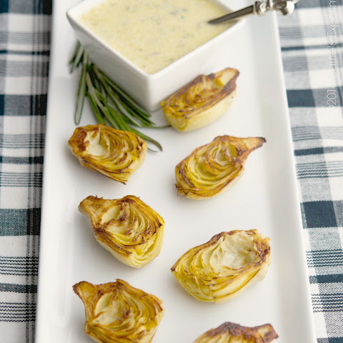 Fried Artichoke Hearts with Rosemary-Garlic Aioli