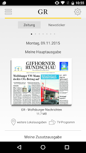 Gifhorner Rundschau - screenshot