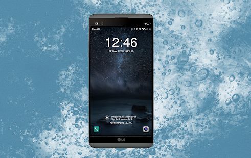 Ice Blue Theme für LG G6 android apps download