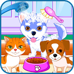 Puppy & kitty salon Icon