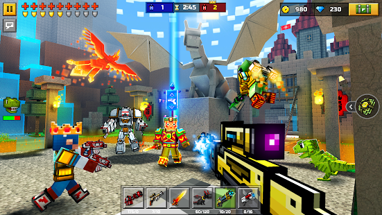 APK Game Pixel Gun 3D (Pocket Edition) for BB, BlackBerry