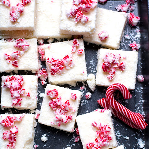 Candy Cane Coconut Ice