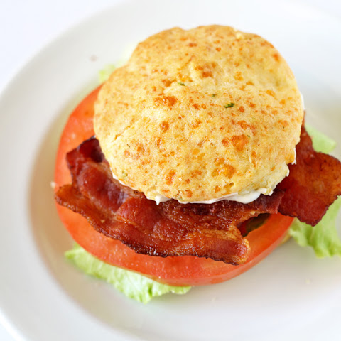 Cheddar Chive Biscuit BLT