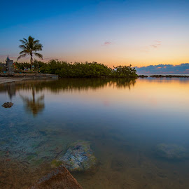 The Bay by Heather Allen - Landscapes Beaches
