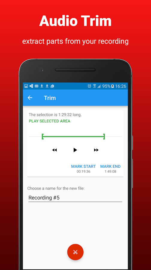 AudioRec Pro - Voice Recorder Screenshot 1