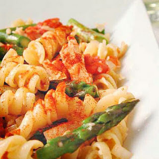 Chicken and Asparagus Pasta Toss