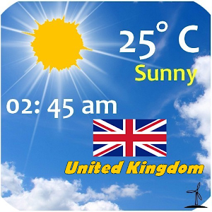UK Weather, GB Weather for Android