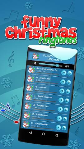 android Divertissant Sonneries de Noël Screenshot 4