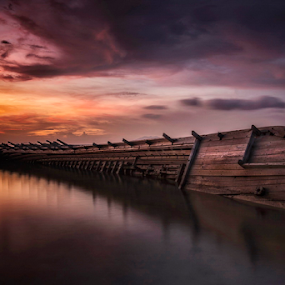 Shipwrecks by Lim Darmawan - Landscapes Sunsets & Sunrises
