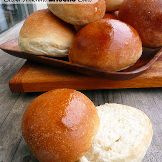 Bread Machine Brioche Buns
