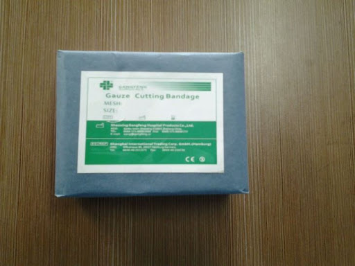 Disposable 100% Cotton Absorbent Gauze Bandage