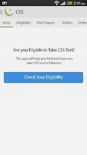 CSS Exams - ilmkidunya.com - screenshot