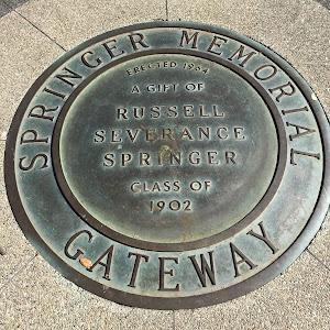 Springer Memorial Gateway