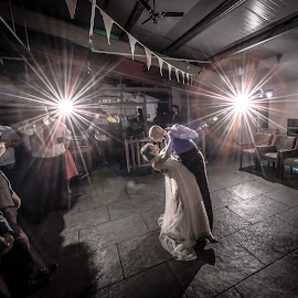 First Dance by Peter Anslow - Wedding Bride & Groom ( first dance, wedding photography, weddings, wedding, wedding dress, wedding photographer, bride and groom )
