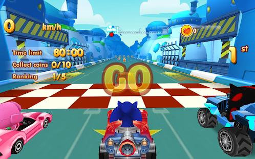 Sonic Chibi Race: 3D Free Kart & Car Racing Game for pc