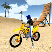 Game Motocross Beach Jumping 3D APK for Kindle