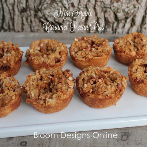 Make It Monday- Mini Caramel Pecan Apple Pies