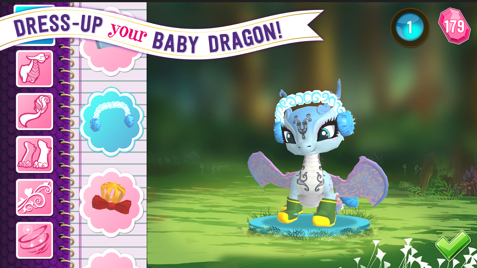 Ever After High™: Baby Dragons Screenshot 1