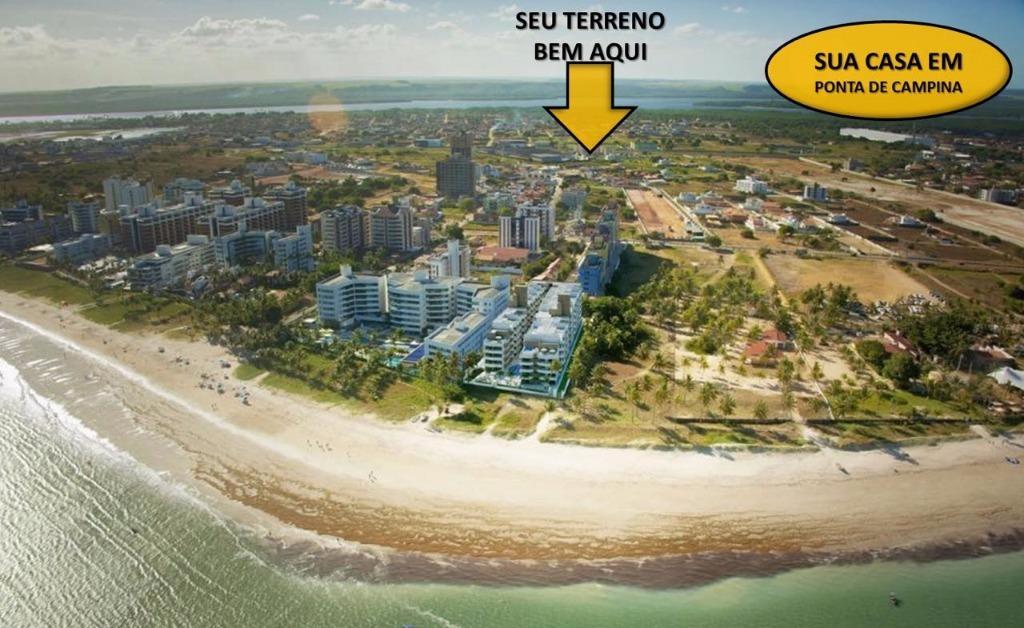Terreno residencial à venda, Ponta de Campina, Cabedelo - TE0225.
