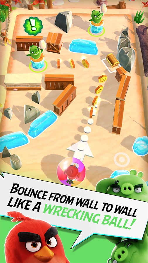 Angry Birds Action! Screenshot 1