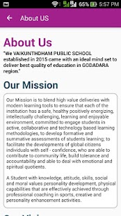 VAIKUNTHDHAM PUBLIC SCHOOL - screenshot