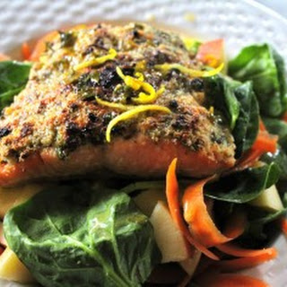 Almond Herb Crusted Salmon Recipes