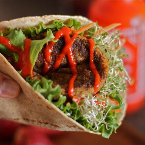 Veggie Burger Wraps
