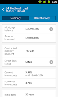 Screenshot of Barclays Mobile Banking
