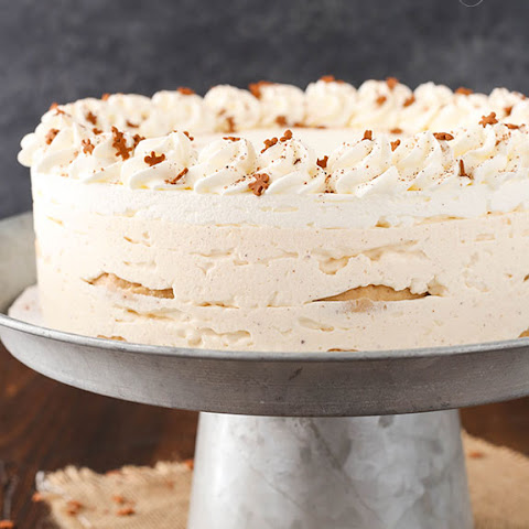 No Bake Eggnog Icebox Cake