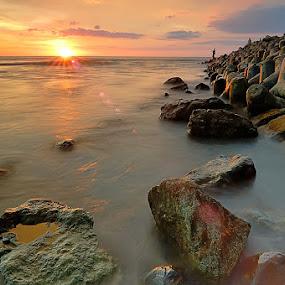 sunsets by Yermia Satriawan - Landscapes Sunsets & Sunrises