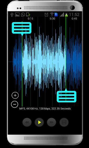 Mp3 Player & Cutter screenshot 1