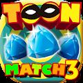 Cartoon Racoon Match 3: Shiny Diamond & Ruby Blitz