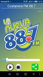Radio Costanera FM 88.7 - screenshot