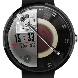 Watch Face: Vinyl Record