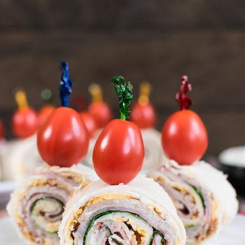 Turkey Club Pinwheels