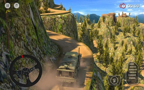 5 Army Truck Driver : Offroad App screenshot