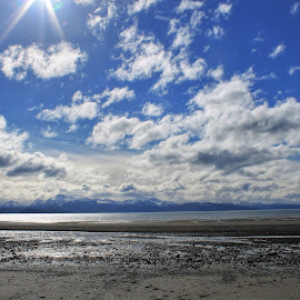 Kachemak Bay Clouds by Patricia Phillips - Landscapes Cloud Formations ( clouds homer alaska )