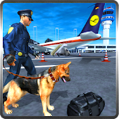 Police Dog Airport Security 3D APK Descargar