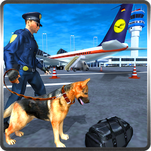 Police Dog Airport Security 3D unlimted resources