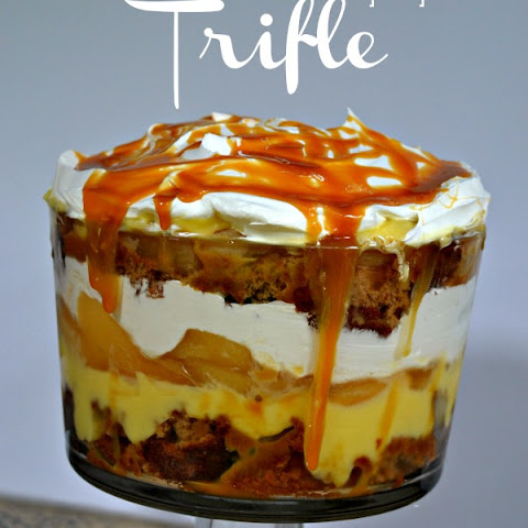 Easy Caramel Apple Trifle