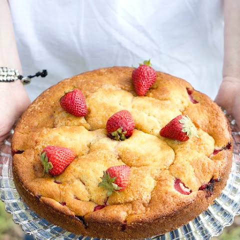 Gluten Free Strawberry Buttermilk Cake