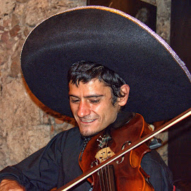 mexico by Jim Knoch - People Musicians & Entertainers
