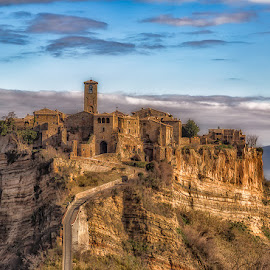 Bagnoregio by Angela Higgins - City,  Street & Park  Historic Districts