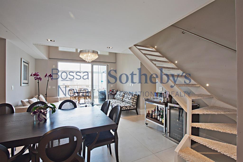 Apartamento moderno, terraço gourmet e mezzanino